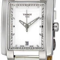 Tissot T-Trend TXL White Dial White Leather Ladies Watch...