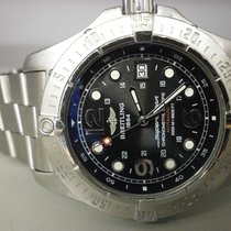 Breitling A17390 Superocean Steelfish Mens Watch 44mm