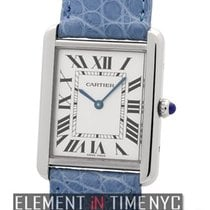Cartier Tank Collection Tank Solo Stainless Steel Large 27mm ...