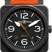 Bell & Ross Aviation BR 03-92 Carbon Orange Limited Edition