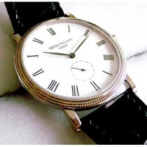 Patek Philippe [NEW][JUNE SPECIAL] Calatrava White Gold Watch...