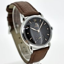 Omega Hammer Automatic Black dial Caliber 342 aus 1950 top