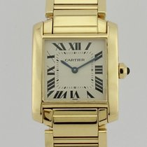 Cartier TANK FRANCAISE 18K GOLD 1821