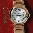 Cartier Ballon Bleu 18k Gold 28mm Ladies Watch Box/Papers...