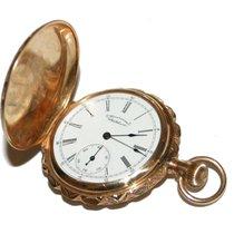 Waltham 1892 American Waltham 14k Yellow Gold Pocketwatch