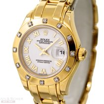 Rolex Pearlmaster Ref-69318 Yellow Gold Bj-1998