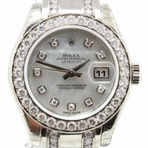 Rolex Pearlmaster 29mm MOP Dial 18K White Gold Ref. 80299...