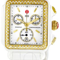 Michele Deco Ceramic Diamond Watch