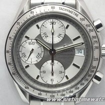Omega Speedmaster Automatic 3513.3000 silver dial full set