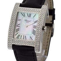 Chopard H Watch with 2 Row Diamond Case