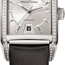 Maurice Lacroix Pontos Rectangular Automatic Diamonds
