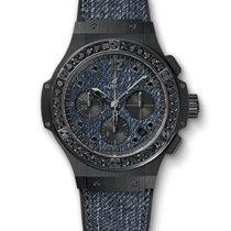 Hublot Big Bang 41mm Jeans · Ceramic Black Diamonds 341.CX.274...
