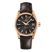 Omega Seamaster Aqua terra  18k Rose Gold Mens watch 231.53.42...