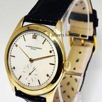 Vacheron Constantin 36mm Vintage 18k Yellow Gold Mens Watch