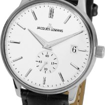 Jacques Lemans Classic N-215A Herrenarmbanduhr Klassisch schlicht
