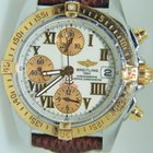 Breitling Chrono Cockpit Steel And yellow Gold Automatic Mens...