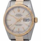 Rolex - Datejust : 16233 silver dial on Jubilee bracelet