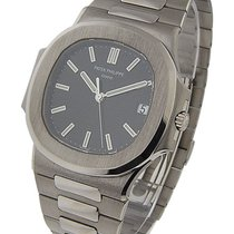 Patek Philippe 3711/1G Nautilus 3711 in White Gold - on...