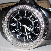 Chanel J12 Ceramic 33 MM Diamonds