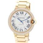 Cartier Ballon Bleu Watch 18K Rose Gold & Diamonds 3003...