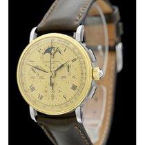 Baume & Mercier Vintage Mondphase Chronograph - Ref: 6102...