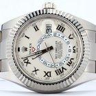 Rolex SKY-DWELLER 42mm 18K White Gold Watch