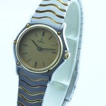 Ebel Classic Wave Damen Uhr 25mm Quartz Stahl/gold