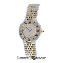 Cartier Genuine Ladies Must de 21 1340 Bullet Bracelet 18K...