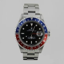 Rolex GMT MASTER  STEEL PEPSi  BOX & PAPERS
