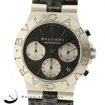 Bulgari Diagono Automatic Ch35s Chronograph W/ Date Black Dial...