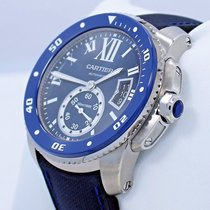 Cartier Calibre De Cartier Diver Wsca0010 Blue 42mm Automatic...
