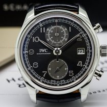 IWC IW390404 Portuguese Chronograph Classic SS / Grey Dial...