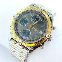 Breitling Chronomat D13047 Stahl / Gold Chronograph Automatik...