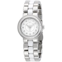 Movado Cerena Silver Dial Stainless Steel Ladies Watch 0606931
