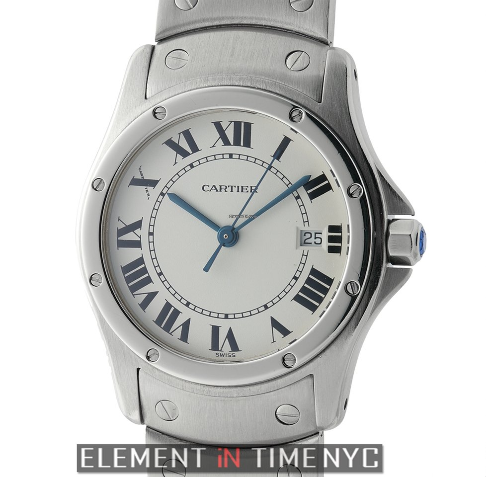 Cartier Santos Stainless Steel