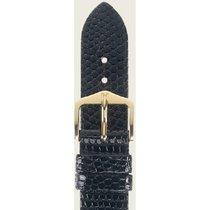 Hirsch Lizard schwarz L 01766050-1-17 17mm