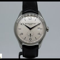 Baume & Mercier Clifton steel automatic watch