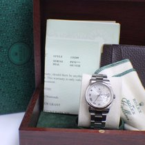 Rolex Day Date President In White Gold Roman Dial Oyster Band