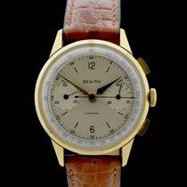 Zenith Compur Chronograph - Vintage - 18 Karat Gelbgold - Bj.:...