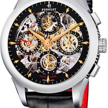 Perrelet Chronograph Skeleton GMT A1010.9