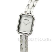 Chanel Premiere Diamond Bezel Steel Ceramic Quartz