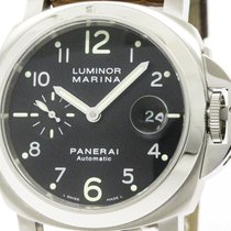 Panerai Polished  Luminor Marina Steel Automaic Watch 164...
