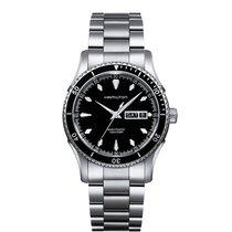 Hamilton Men's H37565131 Jazzmaster Seaview Day Date Watch