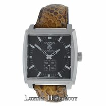 TAG Heuer Authentic Mens  Monaco WW2110 Automatic Date...