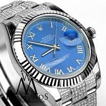 롤렉스 (Rolex) Datejust Ii White Gold Fluted Bezel With Box And...