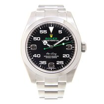 Rolex Air King Stainless Steel Black Automatic 116900