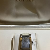 Cartier Tank Americaine Special Edition white gold 18 kt