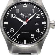 Alpina Geneve Pilot AL-525B4S6B Herren Automatikuhr Alpina Rotor