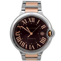 Cartier Pre-owned 42mm 18k Rose Gold and Stainless Steel...