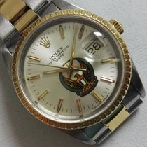 Rolex Oyster Perpetual Date Steel and Gold18 KT  rare UAE dial